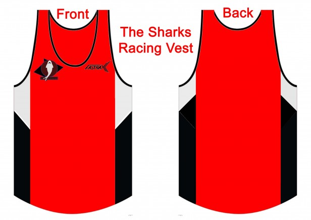 Shark Racing Vest
