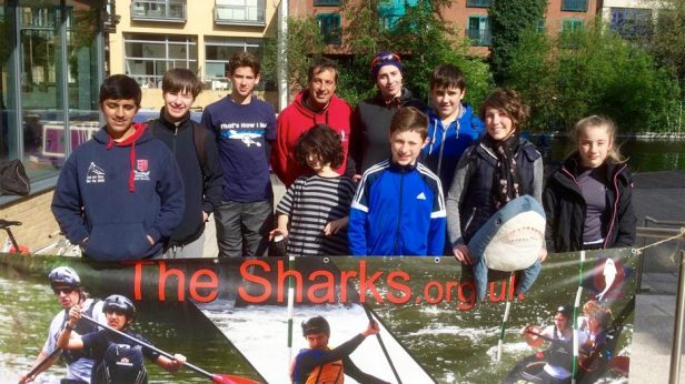 The Sharks at Kingsland Basin 2016