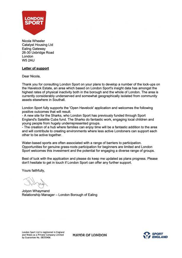 London Sport Letter